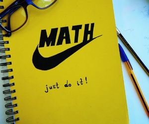 math, diy, and nike image
