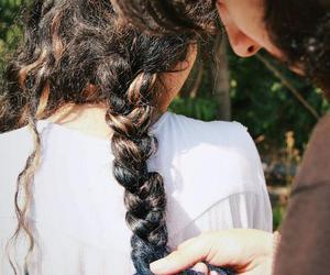 hair and couple image
