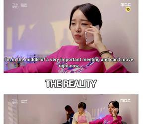 funny, kdrama, and pink image