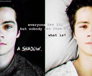 teen wolf, shadow, and stiles image