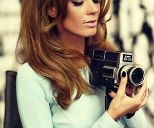 photography, hair, and retro image