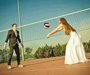volleyball, love, and wife image