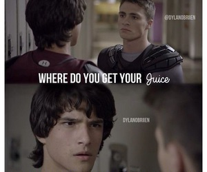teen wolf, jackson, and scott image