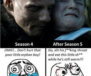 hate, olly, and winter is coming image