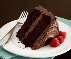 chocolate, sweet, and cake image