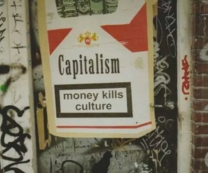 capitalism, money, and culture image