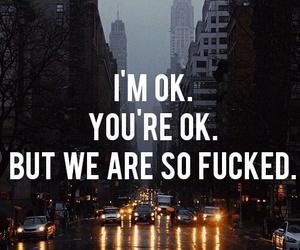 sad and ok image