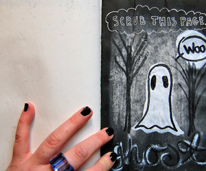 ghost, hand, and keri smith image