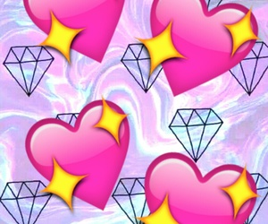 colors, diamonds, and hearts image