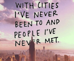 city, meet, and people image