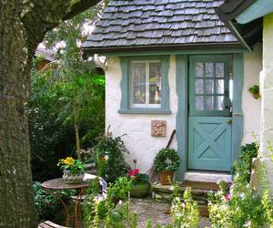 cottage, home, and cute image