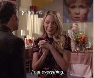 gossip girl, food, and eat image
