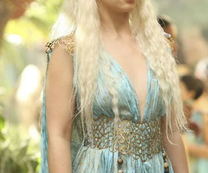 game of thrones, daenerys targaryen, and khaleesi image