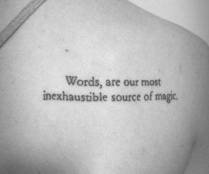 magic, words, and phrases image