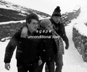amigos, harry potter, and unconditional love image