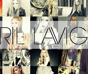 album, Avril Lavigne, and Collage image