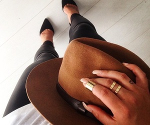 nails, outfit, and luxury life image
