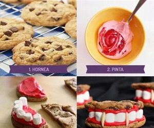 diy, Halloween, and Cookies image