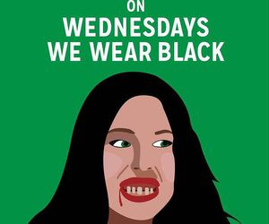 black, lindsay lohan, and mean girls image