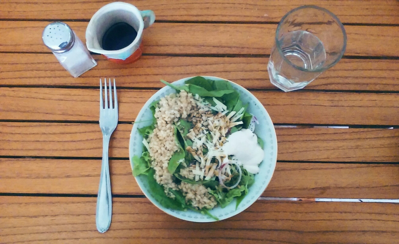 health, lunch, and salad image