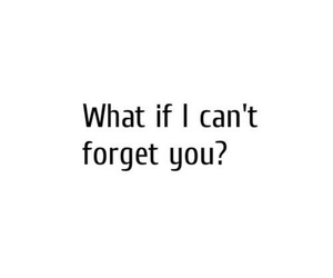 quote, love, and forget image
