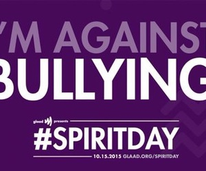 spirit day, lgbt, and love wins image