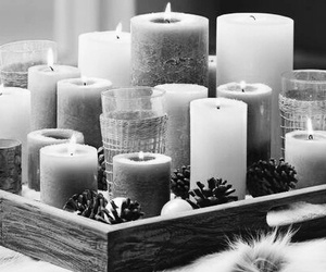 and, black, and candle image