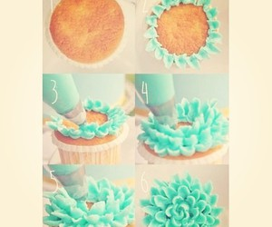 cupcake, diy, and food image