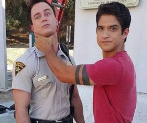 teen wolf, tyler posey, and parrish image