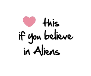 alien, aliens, and heart this image