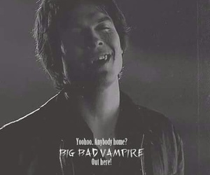 tvd, iansomerhalder, and thevampirediares image