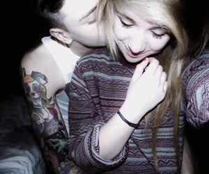 couple, boy, and tattoo image