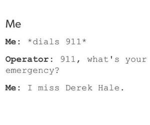 derek hale, me, and miss image