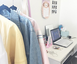 clothes, pastel, and room image