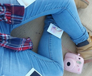 instax, jeans, and pictures image