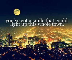 smile, light, and town image