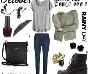 black, Polyvore, and gold image
