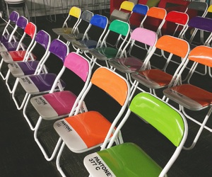 chairs, colors, and design image