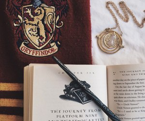 harry potter, gryffindor, and book image