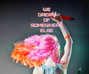 daydreaming, hayley williams, and Lyrics image