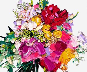 flowers, art, and beauty image