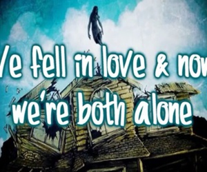 Lyrics, pierce the veil, and hell above image