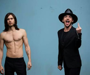 jared leto, shannon leto, and up in the air image
