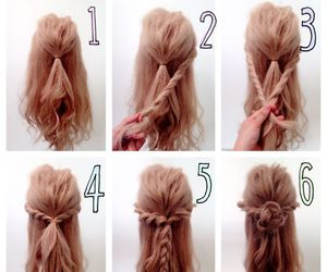 braids, hairdo, and hairstyles image