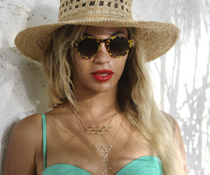 beyoncé, queen b, and hat image