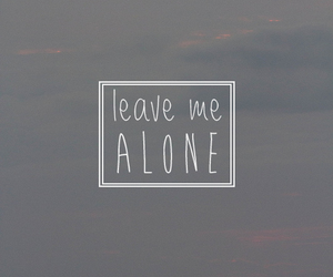 quote, alone, and tumblr image