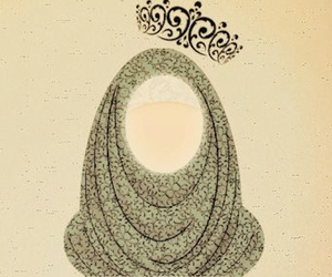 hijab muslim woman queen image