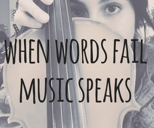 music, quote, and viola image