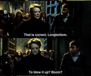 harry potter, boom, and hogwarts image