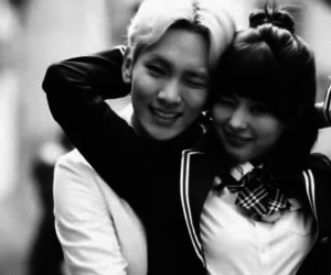 couple, key, and we got married image